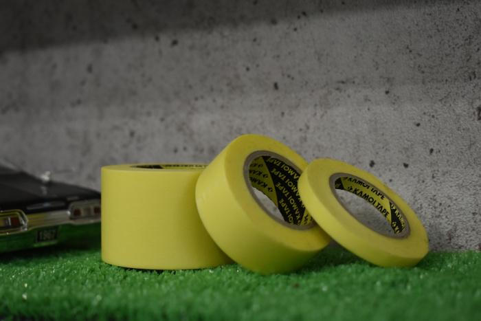 マスキングテープの重要性と落とし穴