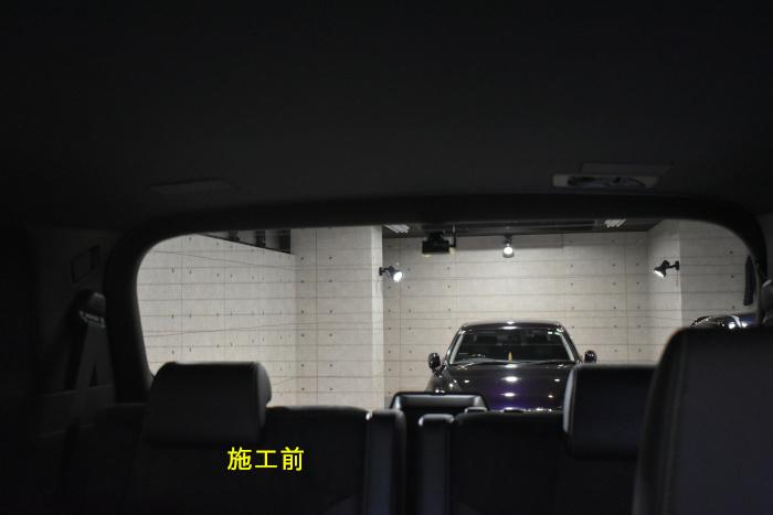 アルファードフィルム施工前-5