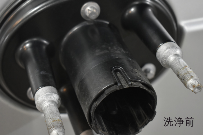 G350d-スペアタイヤ洗浄前-1