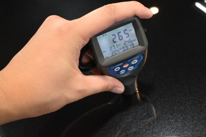 レクサスGS-膜厚計